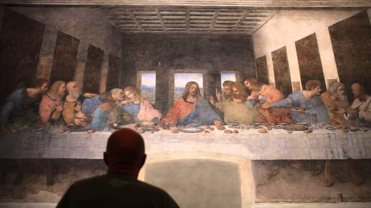 Marco berry davanti al cenacolo il capolavoro di leonardo for Il cenacolo bagno di romagna