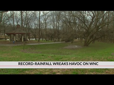 Rivers flooding Asheville city parks leaving behind extensive damage