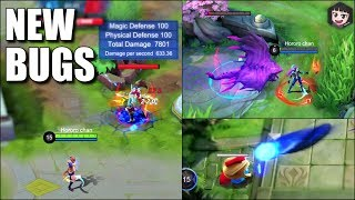 NEW BUGS FOR ALL MOBILE LEGENDS