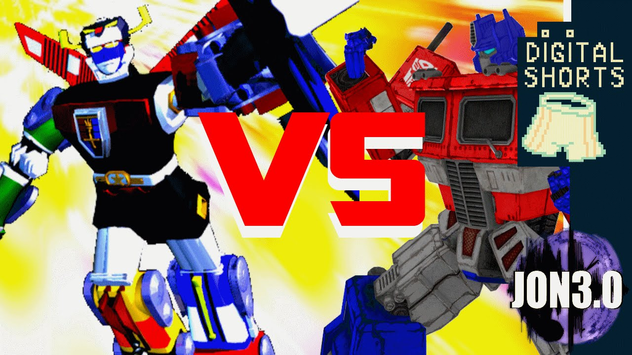 DIGITAL SHORT TRANSFORMERS vs VOLTRON - YouTube