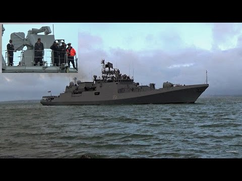 🇮🇳 Indian Navy Ship INS Trikand, Sails Into Portsmouth England.