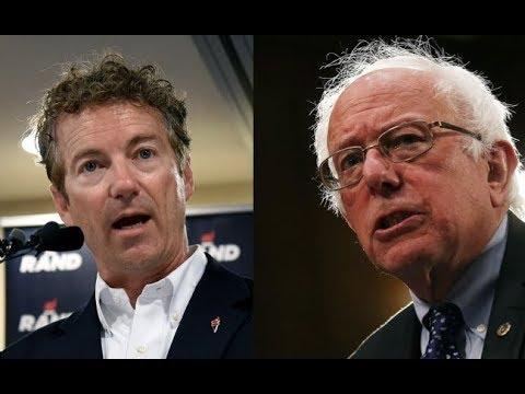 Rand Paul Vs Bernie Sanders | HEATED Debate In The Senate