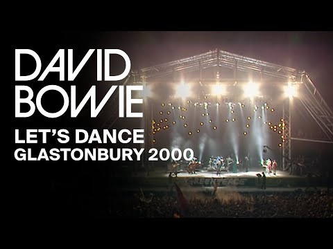 David Bowie - Let's Dance, Live at Glastonbury 2000 (Video Clip)