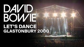 David Bowie - Lets Dance, Live at Glastonbury 2000 (Video Clip)