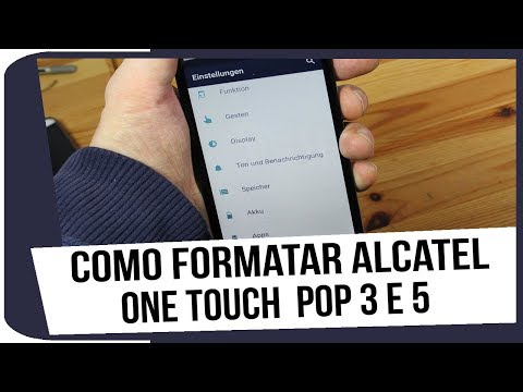 Como formatar alcatel one touch pop 3 e 5
