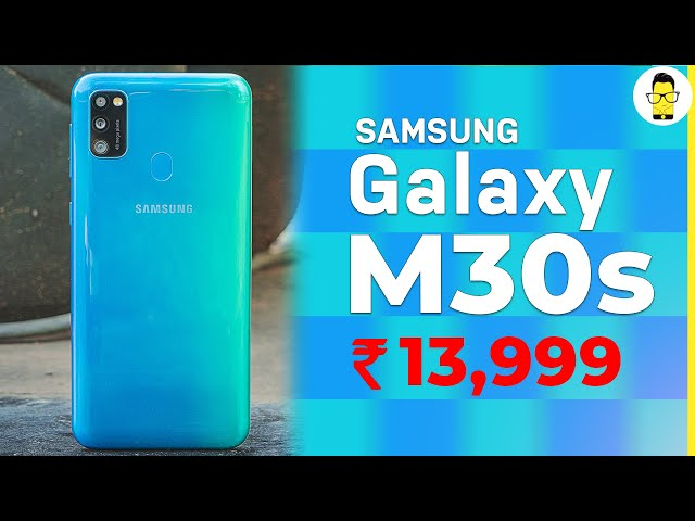 Samsung Galaxy M30s unboxing, hands-on review, camera samples, and more