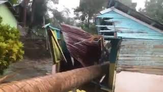 Un Ventarrón Con Lluvias Causa Daños A 10 Casas En Santiago Rodríguez