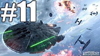 Star Wars Battlefront Gameplay #11 - Fighter Squadron (PC)