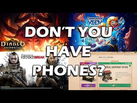 Why Are Gaming Sites Pushing Mobile Games?
