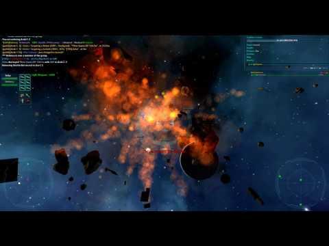 Vendetta Online - Goliath - Goliath vs Hive Queen + MISC