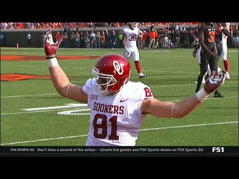 OKLAHOMA VS OKLAHOMA STATE NO HUDDLE 2017