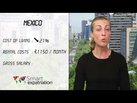 Mexico - Cost of Living, Rental Costs & Gross Salary