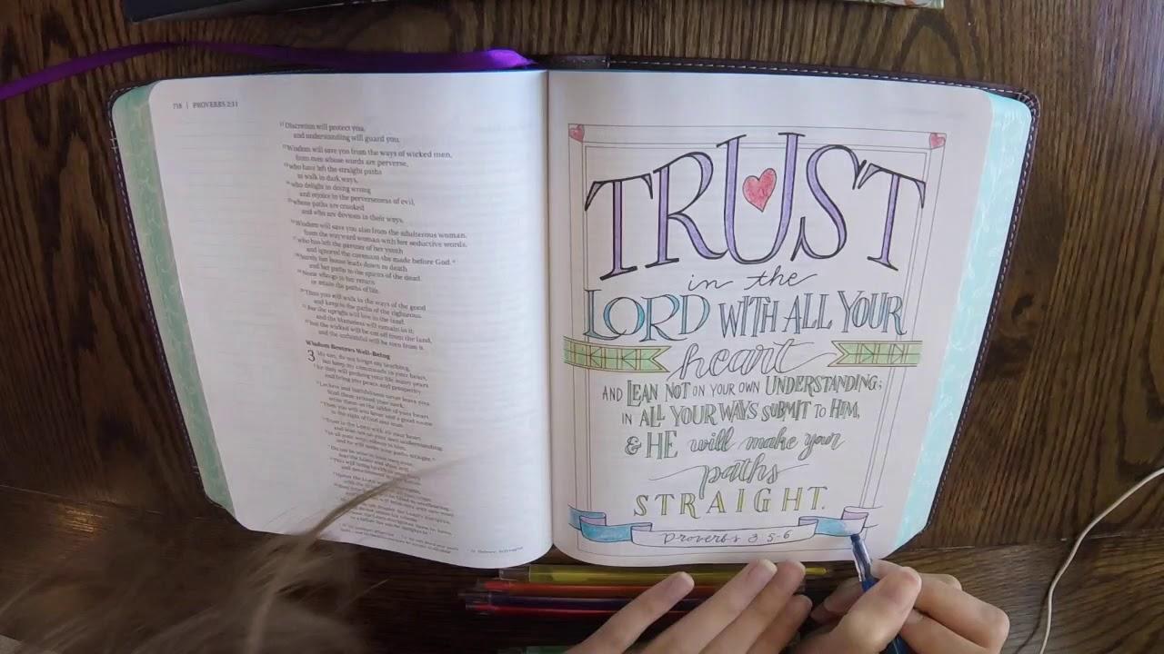 NIV Beautiful Word Coloring Bible Video Sample