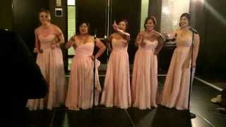 Best bridesmaid speech EVER!  All About that Bass (All About that BRIDE) #121314brownwedding