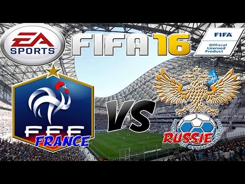 FIFA 16 France - Russie [EXHIBITION]