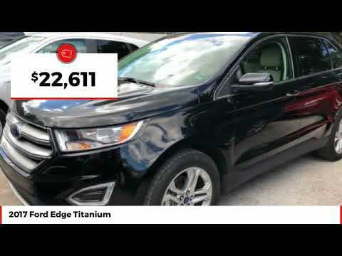 2017 Ford Edge Titanium Used HBB59835