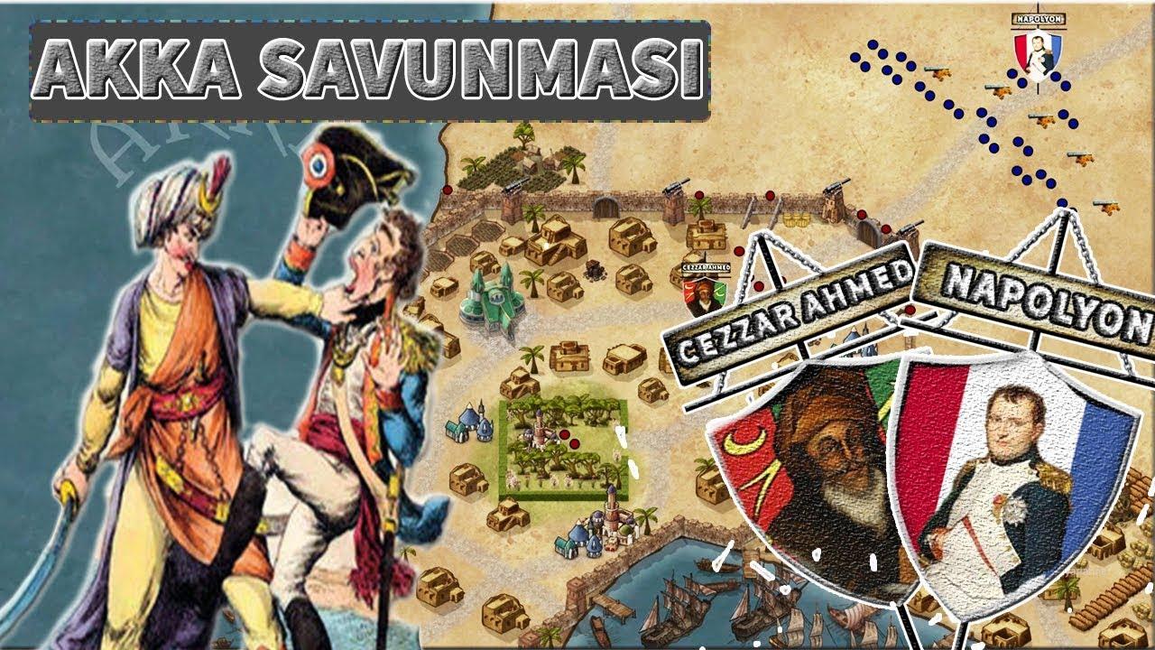 Napolyon'a Osmanlı Tokadı || CEZZAR AHMED PAŞA-AKKA SAVUNMASI(1799)