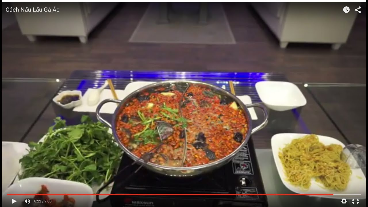 Cách Nấu Lẩu Gà Ác