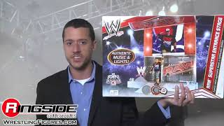 wwe raw superstar entrance stage by mattel toy wrestling action figure playset