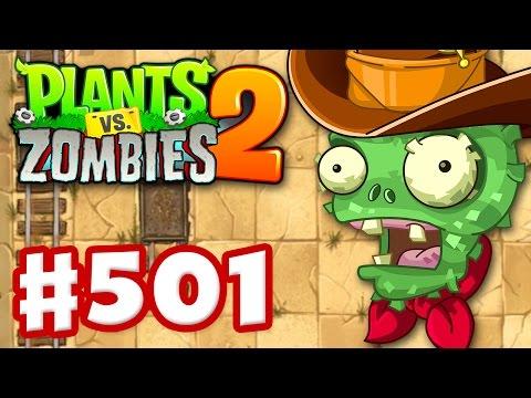 Plants vs. Zombies 2 - Gameplay Walkthrough Part 501 - Wild West Pinatas! (iOS)