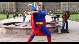 Superman does Gangnam Style - Hot 89.9 Contest
