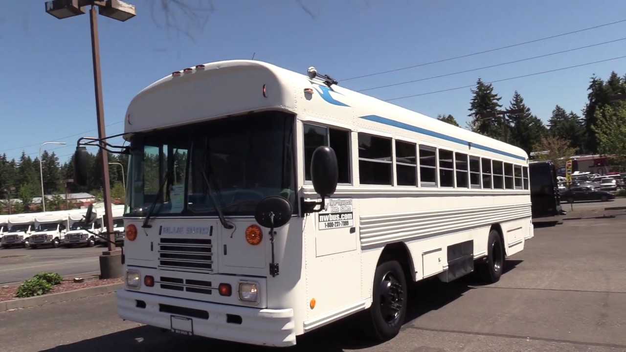 2003 Blue Bird TC-2000 42 Passenger - B09218-Used2003Blue BirdTC/2000