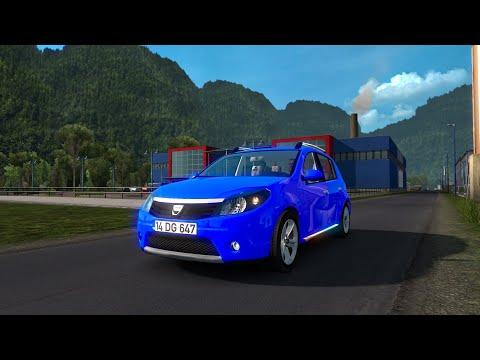 Dacia Sandero Mod Review|Euro Truck Simulator 2