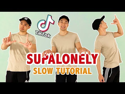 SUPALONELY DANCE TUTORIAL (SLOW)