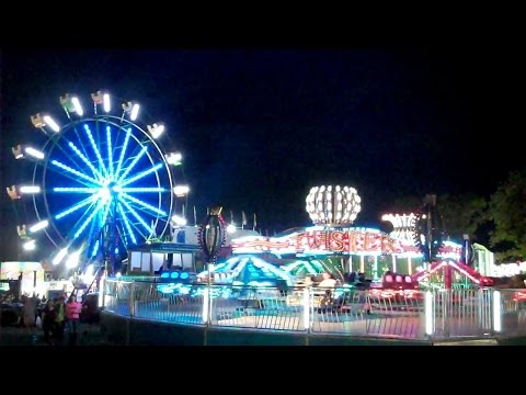 Twister Ride at 2016 Lorain County Fair  Wellington, Ohio