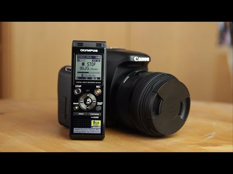 Why to get an external Audio Recorder for Videography | Olympus WS-853