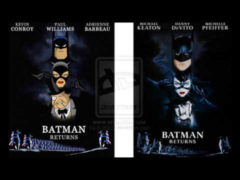 "Batman Returns (1992): ['BTAS']: Complete Scores #'s 4./5./10./11.) ""The Zoo""/""The Lair"" I & II."""
