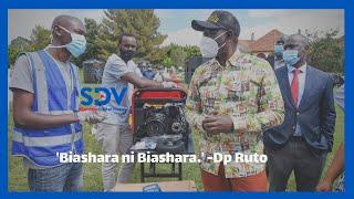 \'Biashara ni biashara.\' says Dp Ruto as he vows to support small businesses