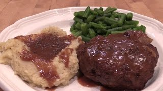 Homemade Hamburger Steak - Southern Style
