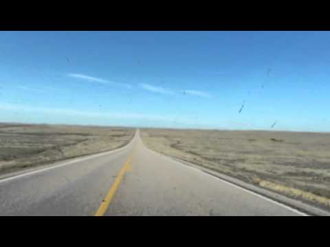 Driving in South Dakota and Wyoming - J. Justin Benson