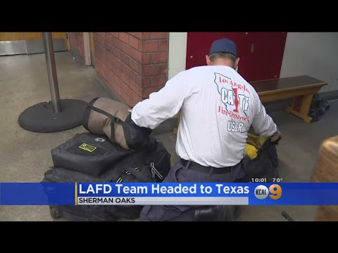 LAFD's Search And Rescue Team Sending Squad To Texas