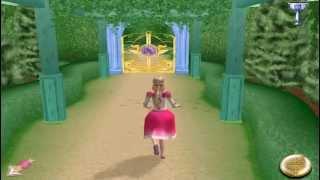 Обзор  Игры Барби / Barbie 12 Танцующих принцесс