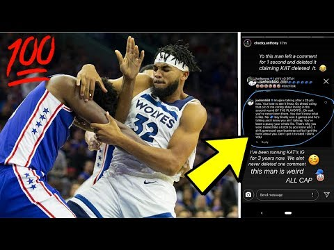 Joel Embiid EXPOSED By Karl-Anthony Towns' Instagram Manager?! (EMBIID DELETED HIS OWN IG COMMENTS) Mp3