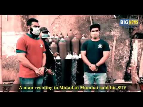 Mumbai Man Sells SUV, Uses Money To Distribute Oxygen Cylinders.