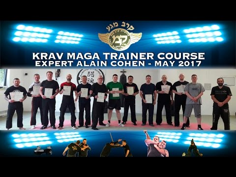KRAV MAGA COURSE IN GERMANY BY EXPERT ALAIN COHEN - MAY 2017