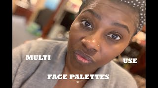 Makeup Collection Breakdown | Multi-Use Face Palettes WITH SWATCHES