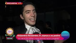 Vicente Fernández no llegó al debut de su nieto Alex Fernández Jr | Sale el Sol