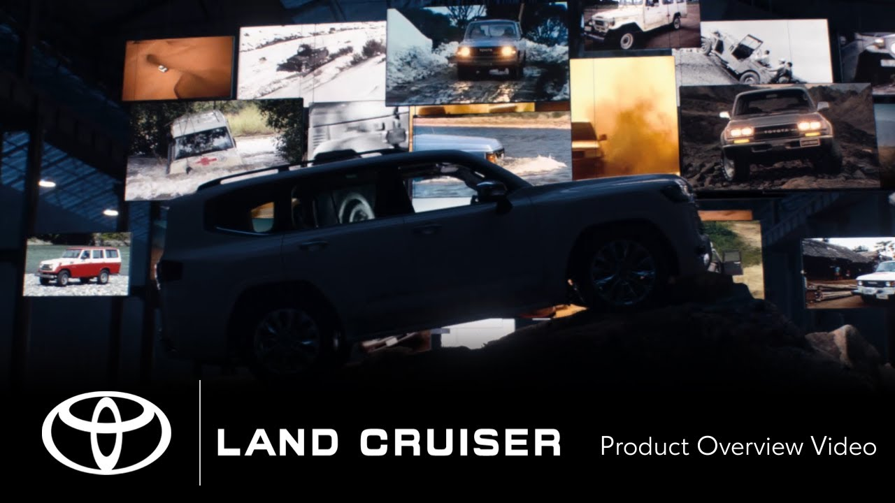 TOYOTA LAND CRUISER | Introducing the all new LAND CRUISER | Toyota
