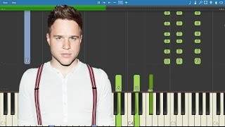 Olly Murs - Years & Years - Piano Tutorial - Instrumental