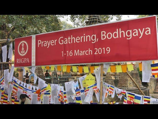Rigpa Bodhgaya gathering 2019