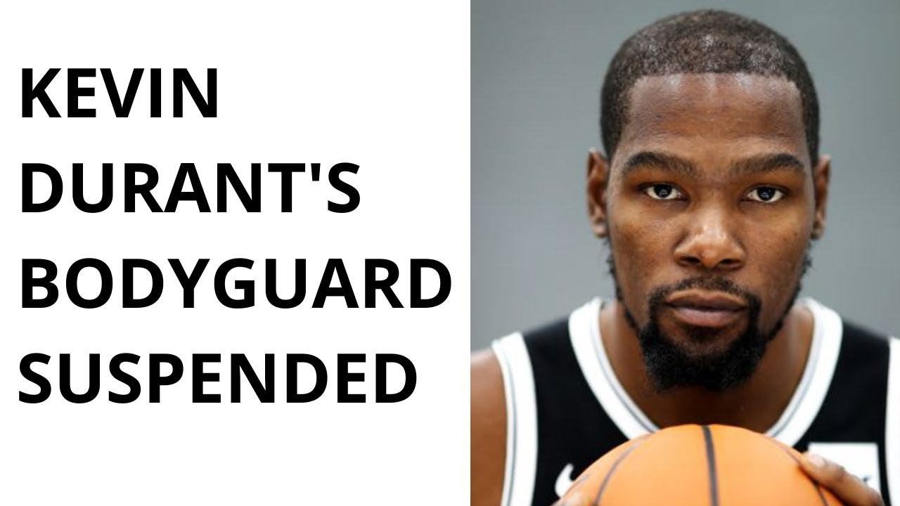 Download Kevin Durant's personal bodyguard suspended after on-court shove of P.J. Tucker