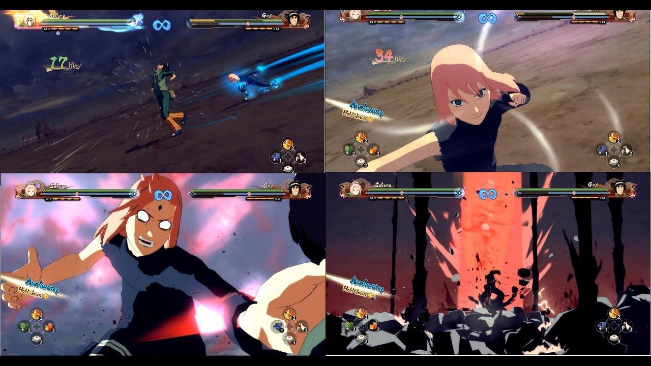 Naruto Shippuden Ultimate Ninja Storm 4 Sakura Warrior