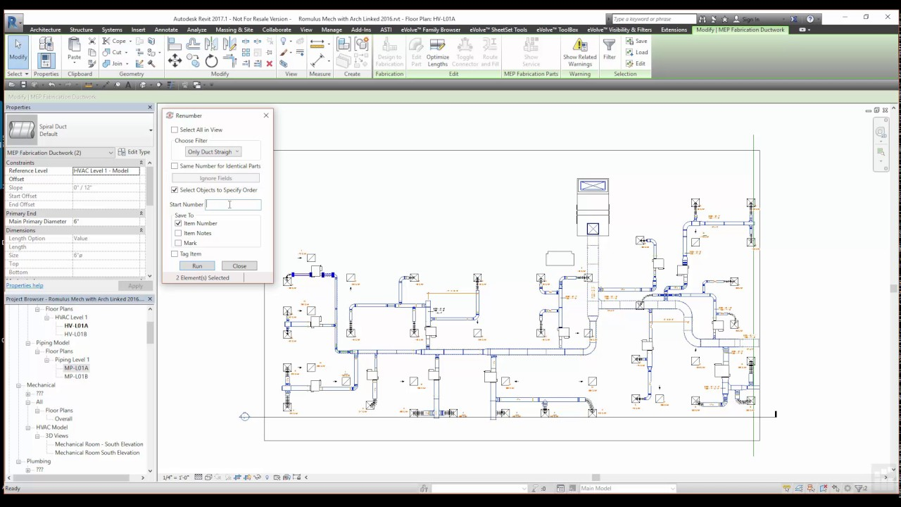 Applied Software | Renumber Tool for Revit