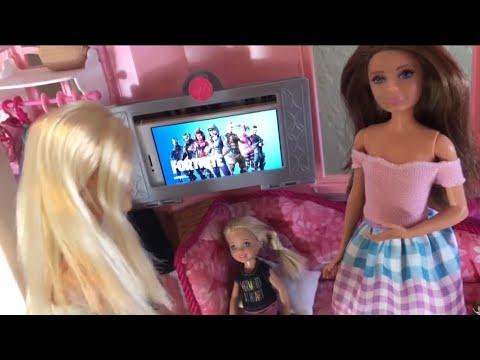 Barbie - No More Fortnite!