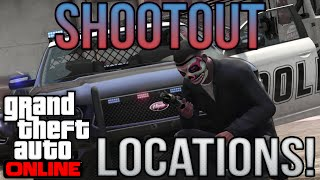 'Best Shootout Locations!' - GTA V: Best Locations! - Episode 8! (HD)