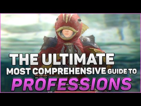 How To Become A Professional Professioner - The Ultimate Black Desert Online Profession Guide!